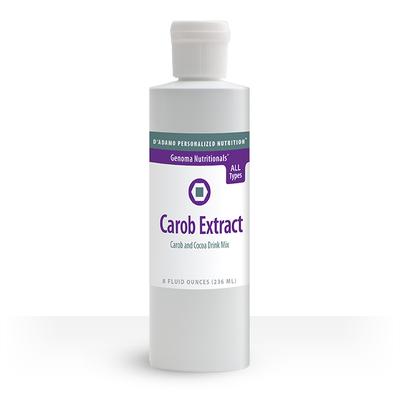 Carob Extract - Carob and cocoa drink mix
