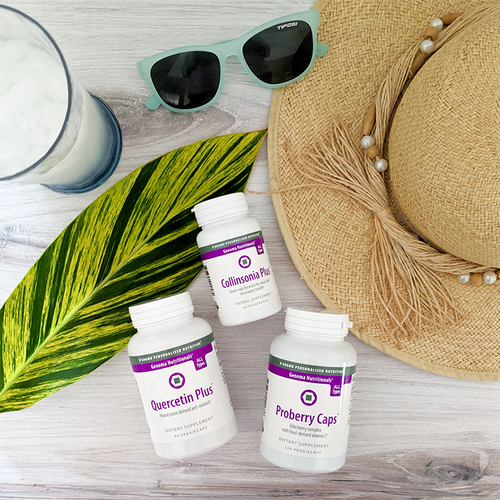Breathe Easy Pack - 3 Products that work together to support respiratory system health