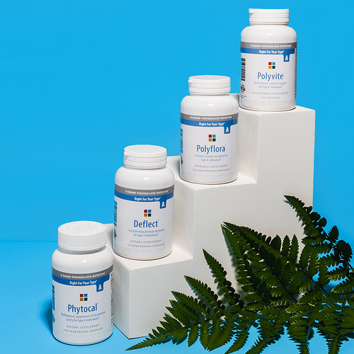 Daily Essentials Pack A - A collection of the most essential vitamins, nutrients, probiotics and dietary support supplements for Type A.