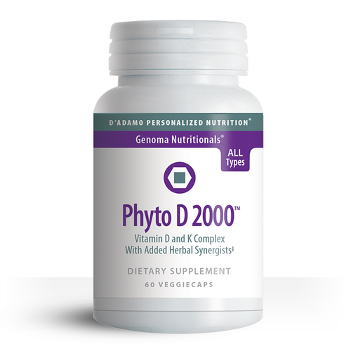 Phyto D 2000 - Support healthy bone and connective tissue with the optimal form of Vitamin D