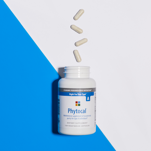 Multimineral and calcium supplement for Blood Type A - Phytocal A