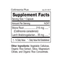 Collinsonia Plus - Supplement Facts