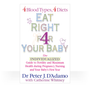 Eat Right For Your Baby by Dr. Peter D'Adamo