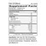Fish Oil Blend - Supplement Facts