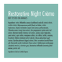Restorative Night Crème
