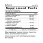 Deflect A - Supplement Facts