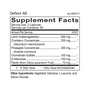 Deflect AB - Supplement Facts