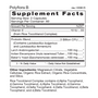 Polyflora B - Supplement Facts