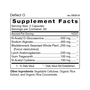 Deflect O - Supplement Facts
