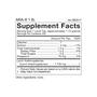 ARA 6 - Pure Larch Powder Supplement Facts