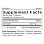 Bromelain - Supplement Facts
