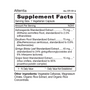 Attentia - Supplement Facts