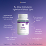 Extra potent multivitamin right for all blood types