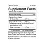DetoxiCal-D - Supplement Facts