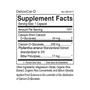 DetoxiCal-D - Supplement Facts