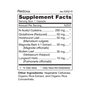 Redoxa - Supplement Facts