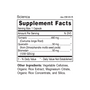 Scienca - Supplement Facts