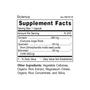 Scienca - Supplement Facts