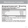 Membrosia Complex - Supplement Facts