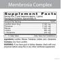Membrosia Complex - Supplement Facts