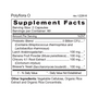 Polyflora O - Pre/Probiotic Supplement Facts
