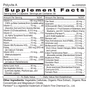 Polyvite A - Multivitamin Supplement Facts