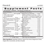 Polyvite B - Multivitamin Supplement Facts