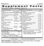 Polyvite O - Supplement Facts