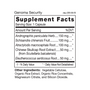 Genoma Security - Supplement Facts