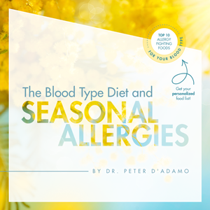 Blood Type Diet and Seasonal Allergies by Dr. Peter D'Adamo