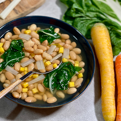 Cannellini Bean & Chard Soup | Right 4 All Types