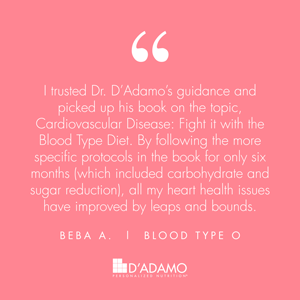 Beba A. - Blood Type Diet Success Story