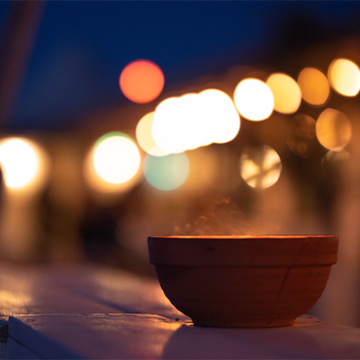 New Year's Bowl Burning Ritual