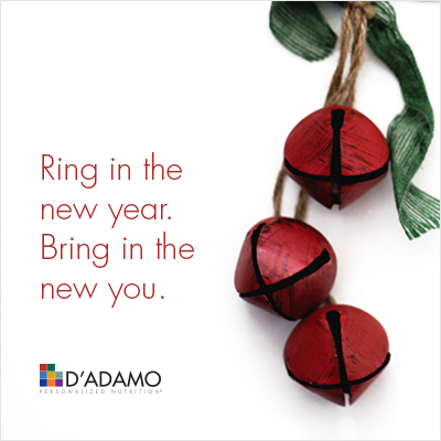 Ring in the new year. Bring in the new you.