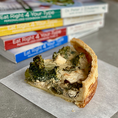 Spinach, Broccoli & Feta Pie | Right 4 All Types