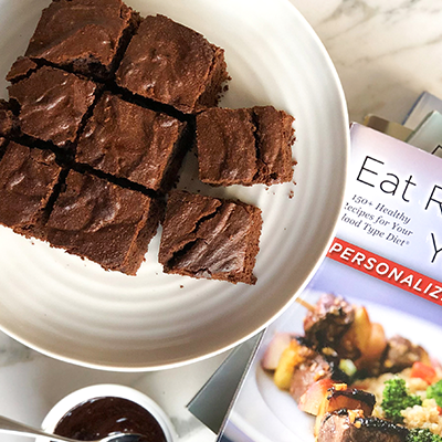 The Ultimate Healthy Brownie Recipe | Eat Right 4 Your Type