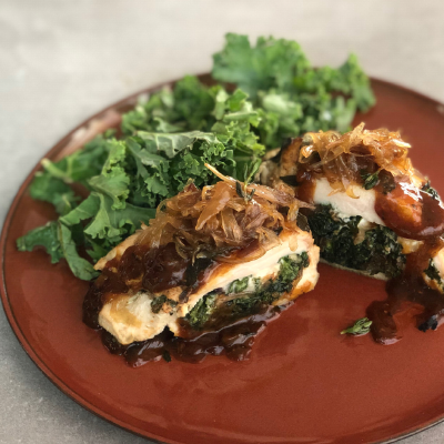 Fig-Stuffed Turkey Breasts | Eat Right 4 Your Type