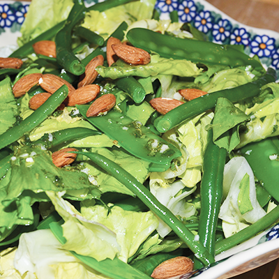 Greens and Beans Salad - Right 4 All Blood Types