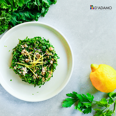 Kale and Quinoa Tabbouleh - Right 4 All Types