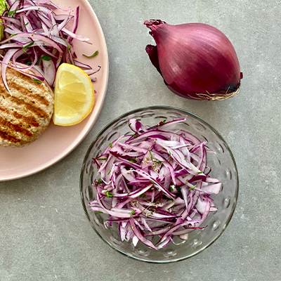 Onion Slaw to Eat with Everything | Right 4 All Types