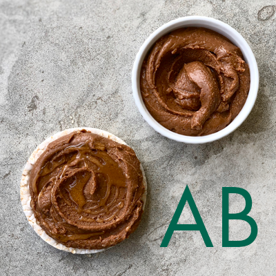 Brownie Spread - For Blood Type AB