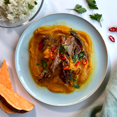 Sweet Potato & Lamb Curry | Right 4 Type B