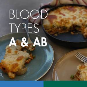 Shepherd's Pie (Blood Types A & AB)