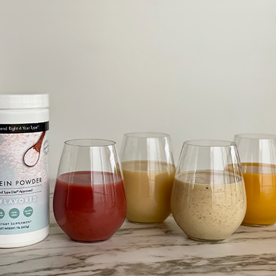 Uniblend Protein-Packed Smoothies | Right 4 All Types