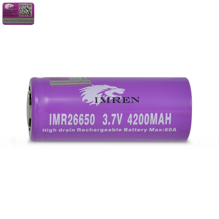 IMREN 26650 4200mAh Battery