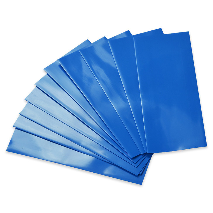 18650 Battery Wraps - 10pcs - Blue