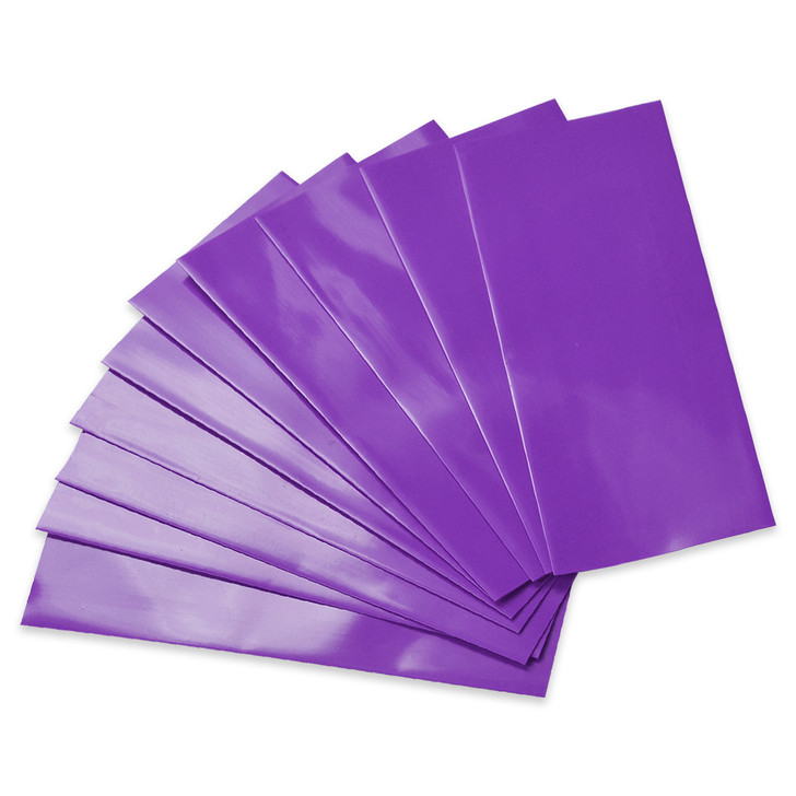 18650 Battery Wraps - 10pcs - Purple