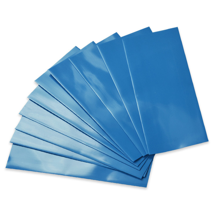 18650 Battery Wraps - 10pcs - Light Blue