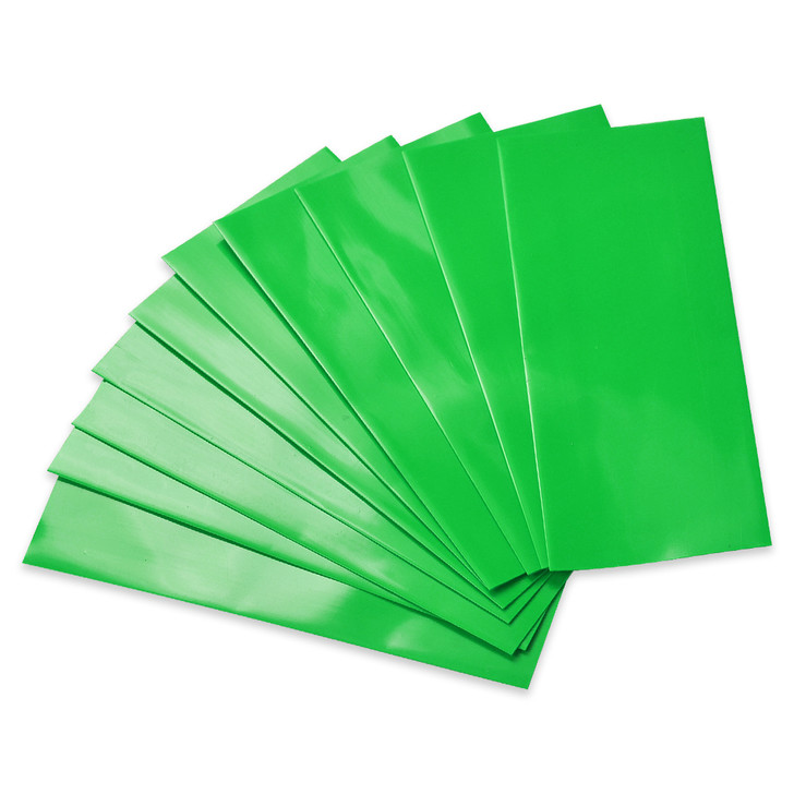 18650 Battery Wraps - 10pcs - Green