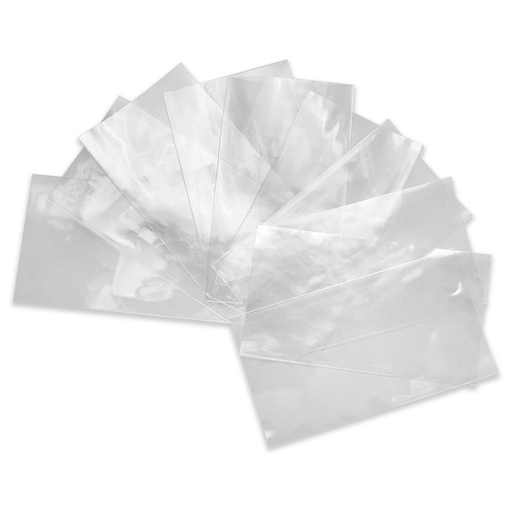 26650 Battery Wraps - 10pcs - Clear